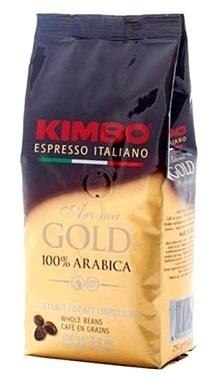 KAWA ZIARNISTA GOLD KIMBO 100% ARABICA